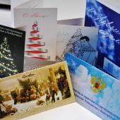 Изготовление фирменных открыток