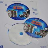 Печать наклеек для дисков